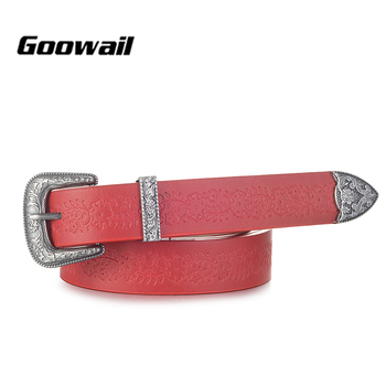 Goowail 2018 spring fashion Metal Pin Buckle Women Belts Vintage High Quality Strap Designer Jeans pu Leather Belt For Women