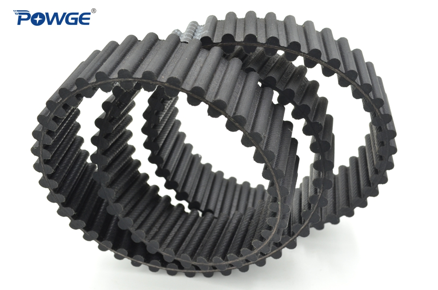 POWGE Double Sided Synchronous belt 3200-D8M-85 Type DA Customized all kinds of HTD3M HTD5M HTD8M Double Teeth Timing BeltPOWGE Double Sided Synchronous belt 3200-D8M-85 Type DA Customized all kinds of HTD3M HTD5M HTD8M Double Teeth Timing Belt