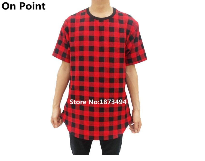 Aliexpress.com : Buy US size summer style mens oversized tartan ...