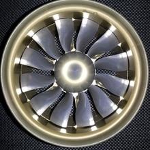Полностью металлический 100 мм воздуховодный вентилятор, 6 S, 12 лопастей, с TP внутренним бегущим двигателем для самолет на радиоуправлении
