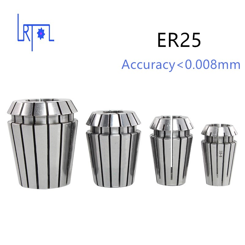 ER25 series spring Collet hold chuck with standard collet for cnc milling lathe tool Engraving machine collet er drill chuck er25 tool holder cat40 taper toolholder milling cutter 1pcs for cnc machine cutting tools