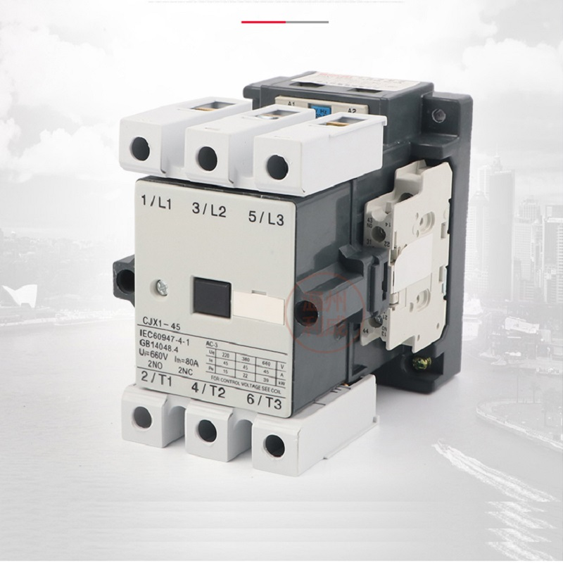 AC contactor CJX1-45/22 silver point 220v 380v quality assurance 2 normally open 2 normally closed
