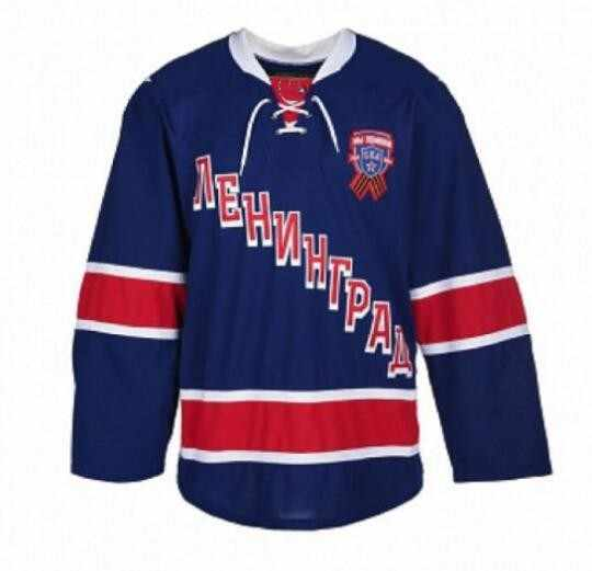 Rare Saint Petersburg Hockey Jersey Embroidery Stitched Customize any number  and name Jerseys d66739a68