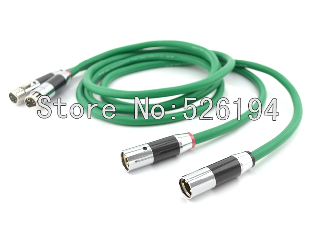 Free shipping  McLntosh pure copper  conductor interconnect cable with Carbon XLR plug cable 1M hosa pro balanced rean dual 1 4 inch trs interconnect cable