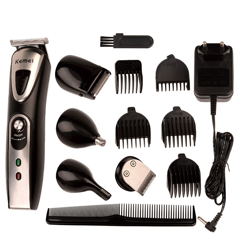 Multifunction Haircut Hair Styling Tools Set Electric Hair Clipper Shaver Rechargeable Beard