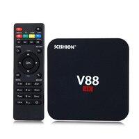SCISHION V88 4K Android Smart TV Box Android 5 1 Set Top Box Quad Core 4K