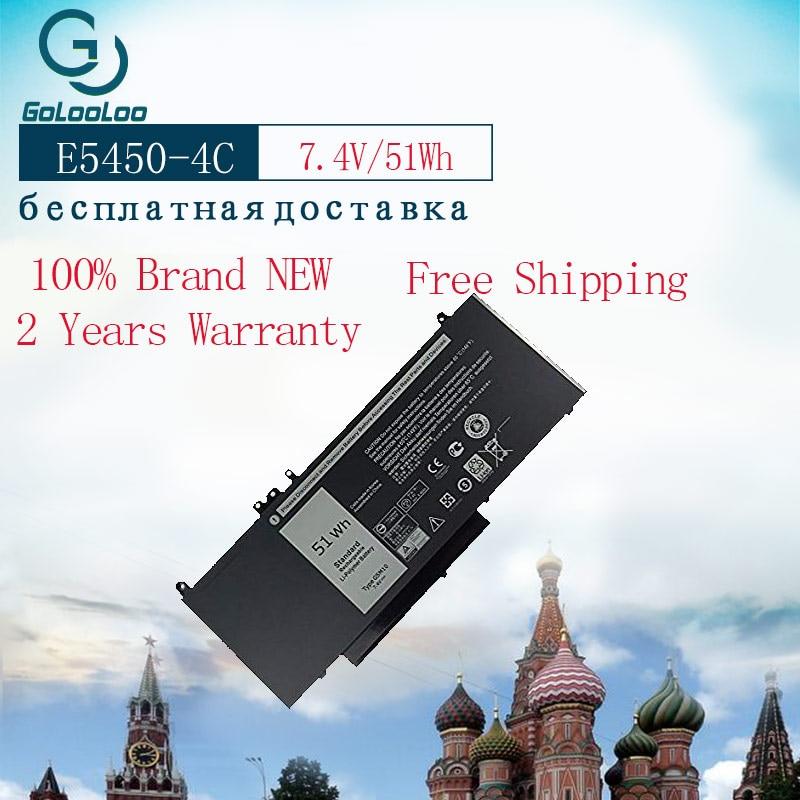 Golooloo 7.4 V 51Wh batterie d'ordinateur portable pour Dell Latitude 3150 3160 E5250 E5450 E5470 E5550 E5570 G5M10 7V69Y TXF9M 79VRK 07V69Y