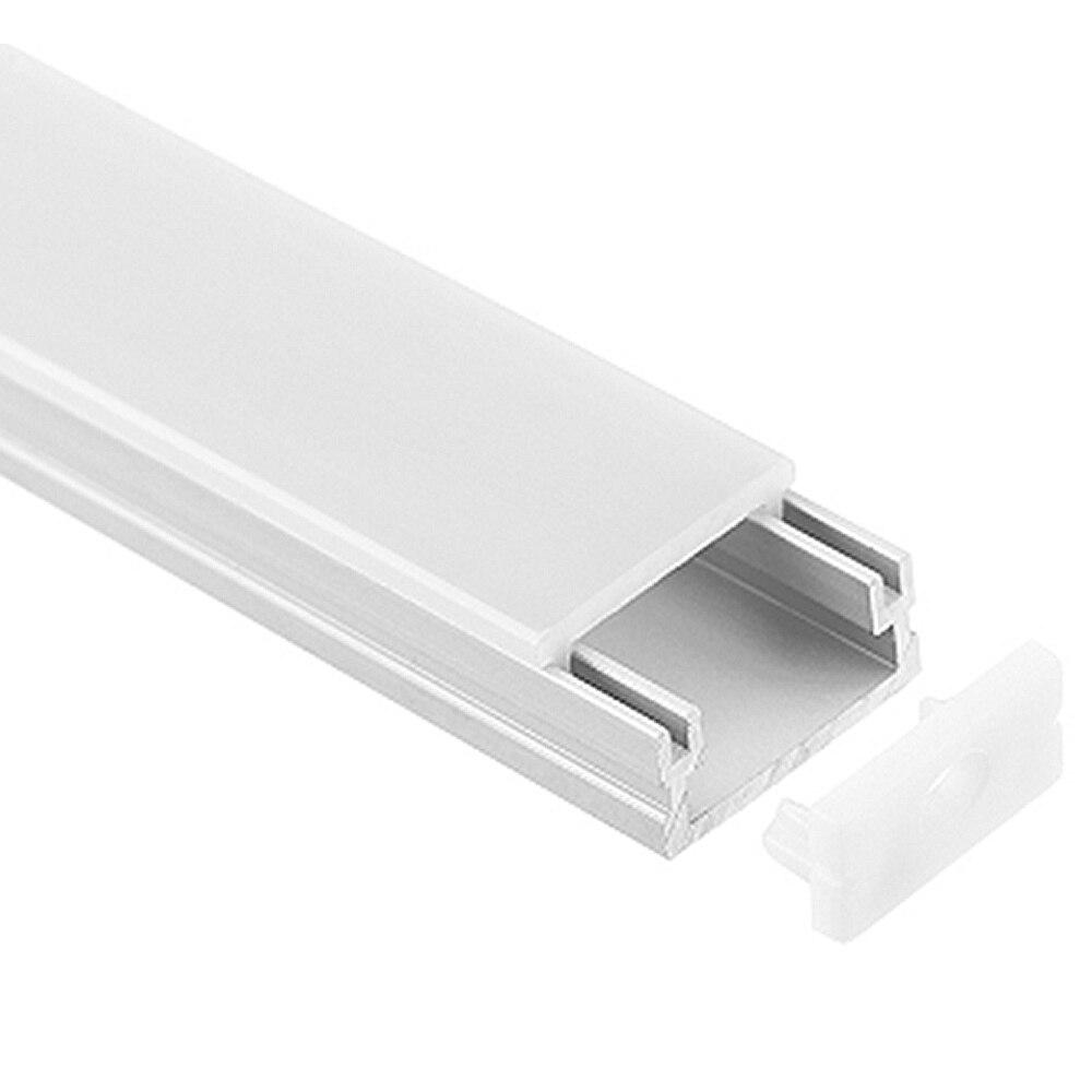 20 piezas (40 m) mucho, 2 m por pieza, perfil de aluminio led para - Iluminación LED