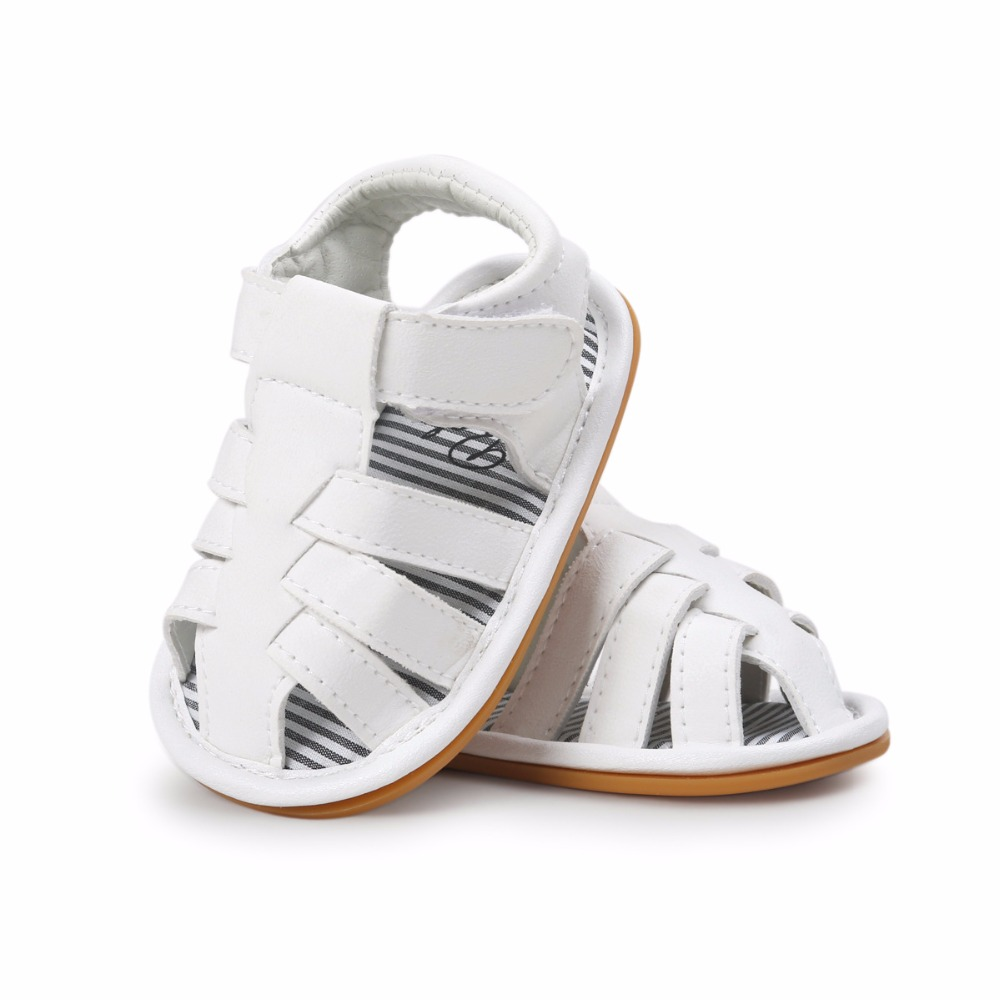White-Color-Summer-Autumn-Newborn-Baby-Boy-Sandals-Clogs-Shoes-Casual-Breathable-Hollow-For-Kids-Children-Toddler-2