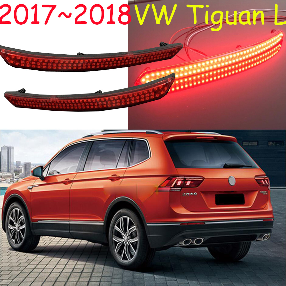 Tiguan Rear light,Tiguan L,LED,2017~2018,Touareg,sharan,Golf7,Jetta,polo,passat,Tiguan fog light,Free ship!Tiguan taillamp tiguan taillight 2017 2018year led free ship ouareg sharan golf7 routan saveiro polo passat magotan jetta vento tiguan rear lamp