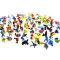 1Pcs 144 Style 2-3CM Movie Toys Mix Style New Cute Cartoon Monster Toys Charizard Action Figure Pikachu Kids Toys