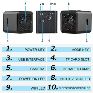 Image 4 - FANGTUOSI SQ13 WIFI small mini Camera cam HD 1080P video Sensor Night Vision Camera Micro Cameras DVR Motion Recorder Camcorder