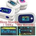 4pcs/lot Pulse Oximeter Sleep Monitor SPO2 PR ODI4 Sleep Monitor PI 8 Hours Memory SAHS Monitor oxygen desaturation index four