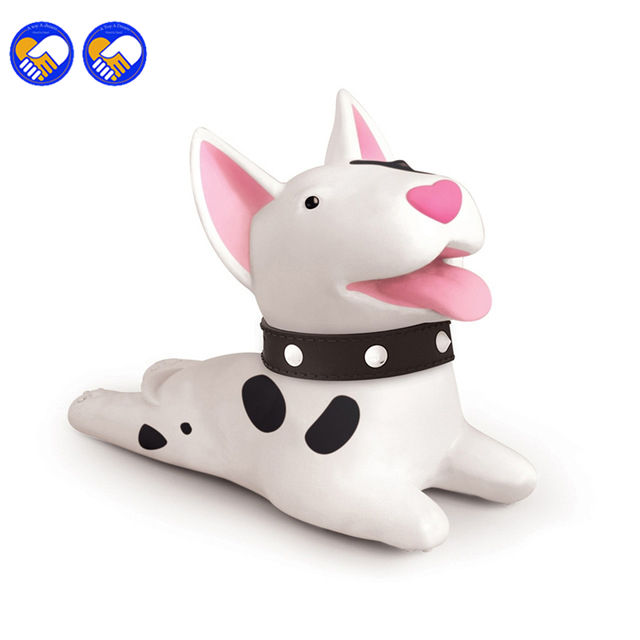 A toy A dream Anime Cute Dog Door Stopper Bulldog khaki Bull Terri PVC Toy Vinyl Doll Action figure Christmas gift super cute plush toy dog doll as a christmas gift for children s home decoration 20