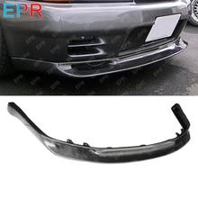 For Nissan Skyline R32 Carbon Fiber Front Lip Body Kit Tuning Part GTR JUN (Only Fit Standard Bumper)