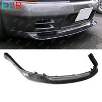 For Nissan Skyline R32 Carbon Fiber Front Lip Body Kit Tuning Part For GTR R32 GTR JUN Front Lip (Only Fit Standard GTR Bumper)