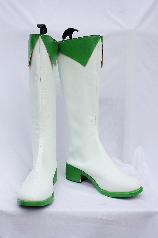 Vocaloid Gumi Megpoid miku Hatsune Miku Senbonzakura bottes Cosplay chaussures
