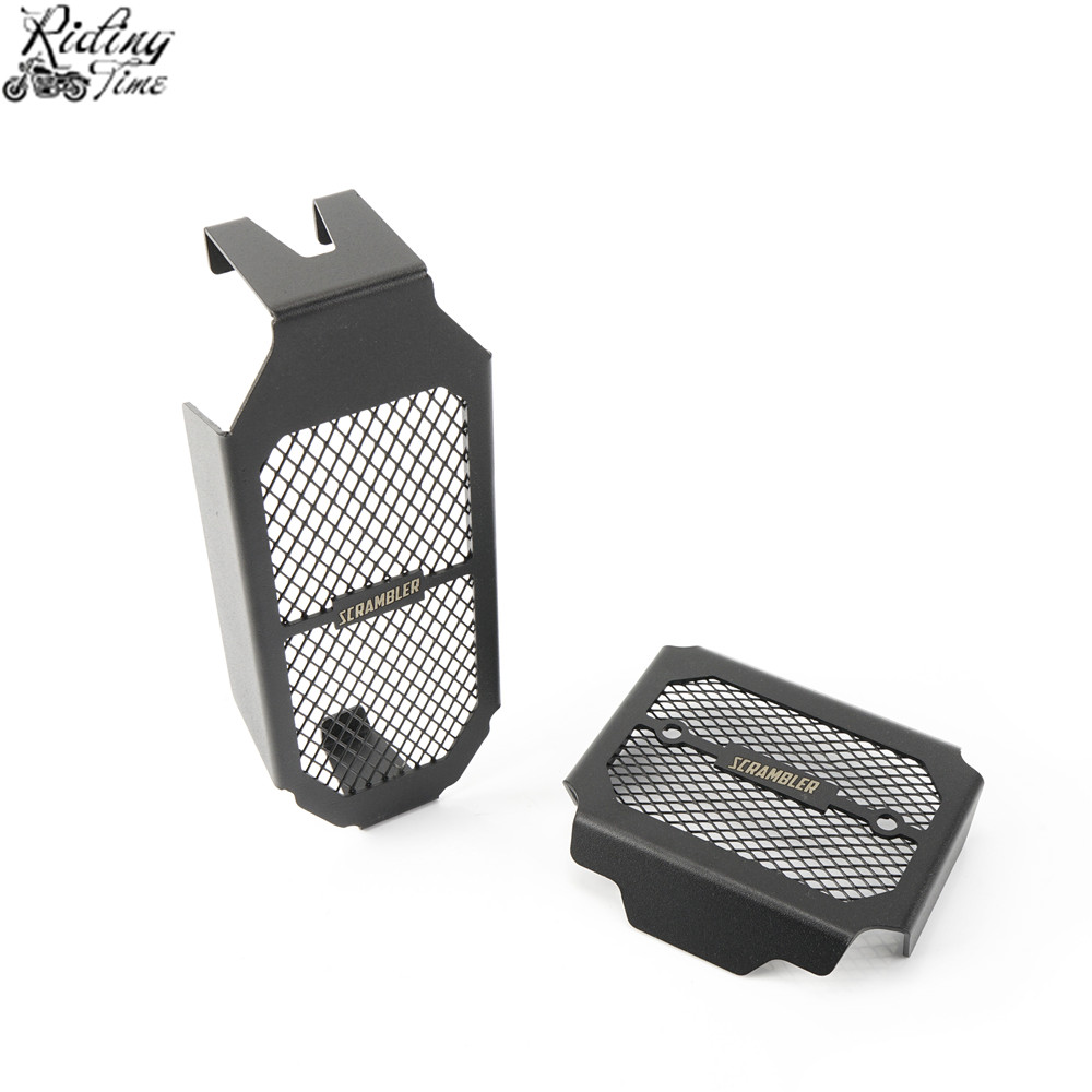 Motorcycle Oil Cooler Protection Guard Cover Radiator Guard Grille Guard Cover Protector For DUCATI Scrambler 800 scrambler800Motorcycle Oil Cooler Protection Guard Cover Radiator Guard Grille Guard Cover Protector For DUCATI Scrambler 800 scrambler800