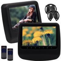 Eincar Pair Car Cd DVD Player 9 Headrest HD Video Wide View LCD Screen Auto Monitor