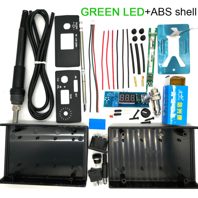 GREEN LED ABS shell