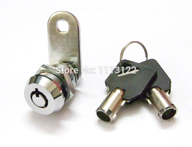 7 Pins Cam Lock For Vending Machine Large Tubular Key Cam