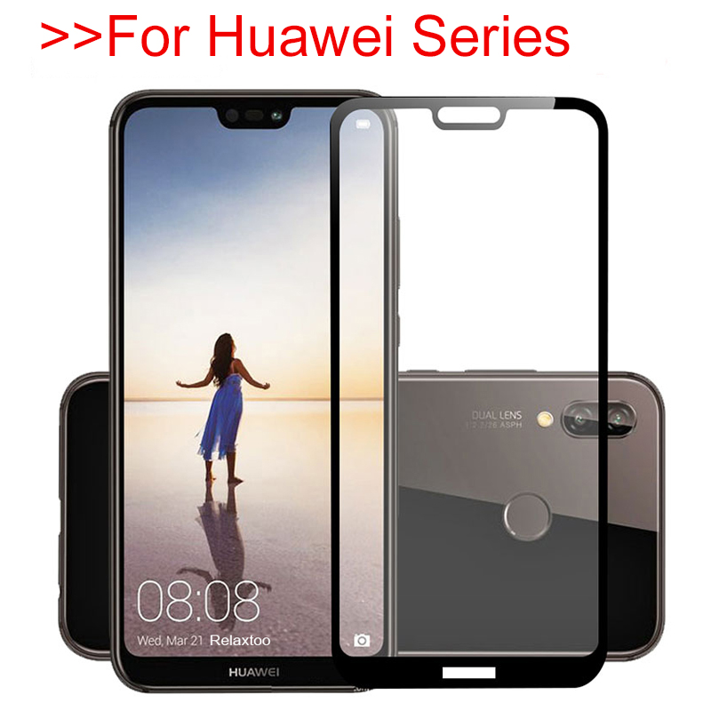 100% Quality Tempered Glass For Huawei P20 Pro Screen Protector On Huawey P9 P10 P8 Lite Mini 2017 P Smart Protective Cover Protection Film