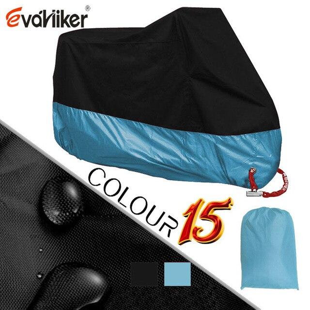 190D Silver Motors Bike Motorcycle Covers Dust Waterproof Outdoor Indoor Rain UV Protector Cover Coat For Bicycle Scooter