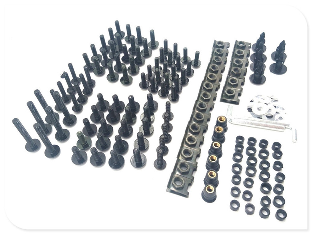 Motorcycle parts <font><b>fairing</b></font> windshield body bolt nut fastening kit for <font><b>SUZUKI</b></font> HAYABUSA GSXR1300 <font><b>SV1000</b></font> S TL1000 R S image