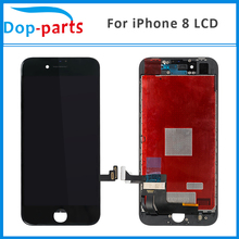 50Pcs Wholesale Price LCD For iPhone 8 LCD Display Touch Screen LCD Assembly Digitizer Replacement Parts with 3D Touch Function wholesale 8 for samsung galaxy tab a 8 0 t350 lcd display with touch screen digitizer sensor replacement parts tablet pc