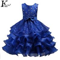 Girls Dress New Summer Dresses For Girls Clothes Princess Wedding Dress Children Clothing Vestidos 3 4