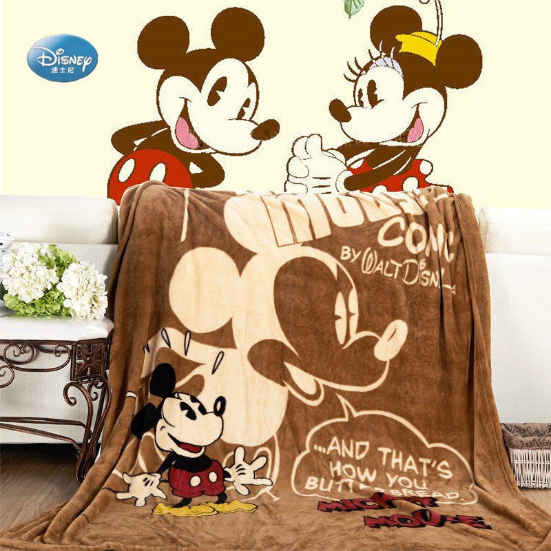 Disney-Cartoon-Pink-Minnie-Mickey-Mouse-Soft-Flannel-Blanket-Throw-for-Girls-Children-on-Bed-Sofa