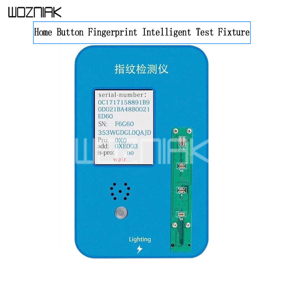 Detail Feedback Questions about Home Button Fingerprint Intelligent