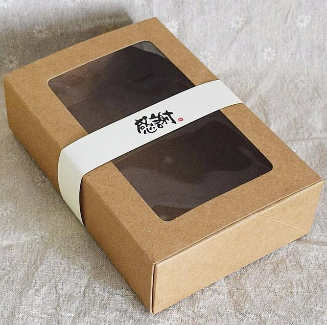 Amato 15 pz carta Kraft cookie di caramella, Kraft confezione regalo di  YW14