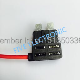 Medium Take electrical appliances of CAR fuse box Auto Fuse Holder WITH  WIRING, with Small Plug. Free Safety Piece appliances electric fuse holder  wireappliance fuses - AliExpresswww.aliexpress.com