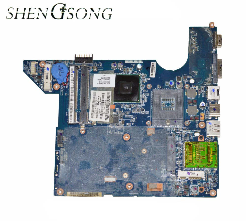 486724-001 Free Shipping LA-4101P Laptop Motherboard for hp DV4 DV4t dv4-1000 dv4t-1100 main board DDR2 GM45 100% tested free shipping 676756 001 board for hp pavilion dv4 dv4t dv4 5000 series laptop motherboard with intel hm77 chipset