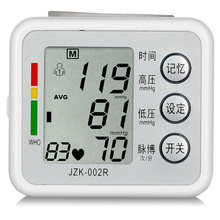 New Sale Health Care new digital Blood Pressure Monitor Wrist tonometer Automatic Sphygmomanometer Blood Pressure Meter Fashion