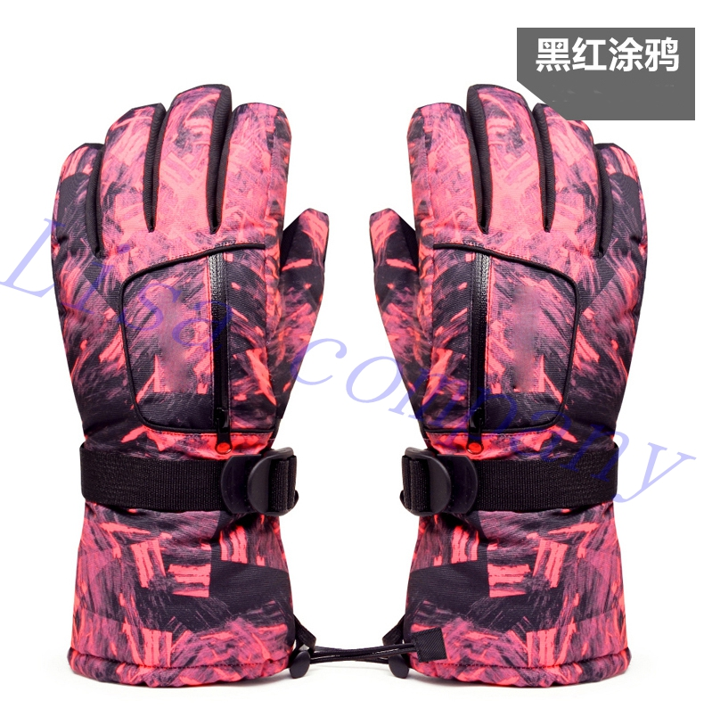 2016 hot sale a pair of colorful winter riding font b gloves b font waterproof windproof