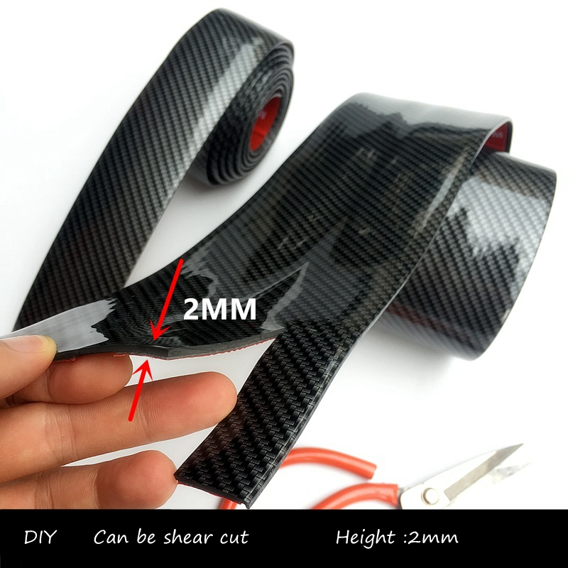 Car Carbon Fiber Look Body Sticker Car Decor Decal Styling Accessories  Self Adhesive Stickers For opel cx-5 golf 4 car styling quality vinyl decal sticker cool racing sport stripes car stickers on the whole body car accessories for toyota reiz