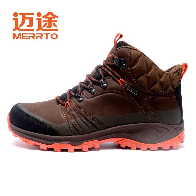555148cde58 Merrto alta calidad Zapatillas de senderismo nueva otoño invierno marca  hombres al aire libre deporte Cool