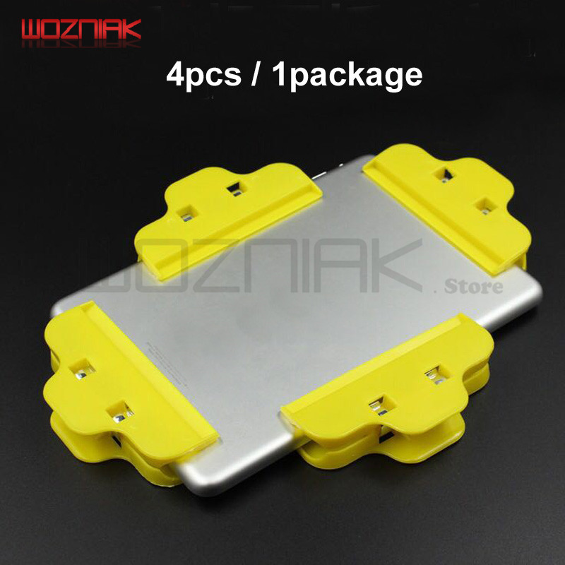 4pcs/lot Mobile Phone Fixed Clamping Fixture For Warping Screen Tablet PC Touch Screen Adhesive Clamp Frame Jig