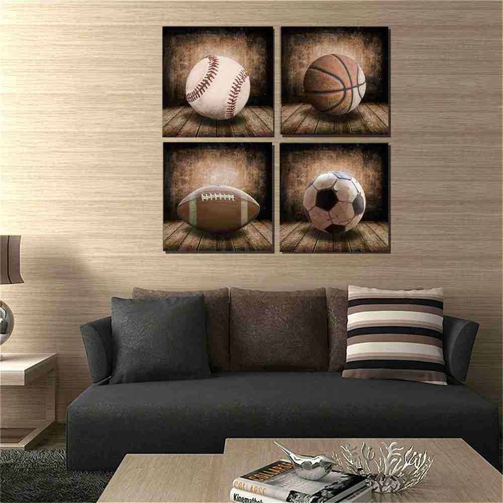 Kids Room Sports Canvas Posters