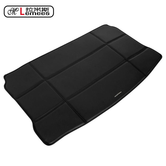high quality pu leather material dedicated car trunk mat for MINI Cooper waterproof non slip durable no odor easy clean carpet