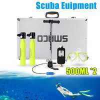 multiple choice Diving equipmentOutdoor Mini Air Tank Oxygen Cylinder Bottle Scuba Diving Set Equipment Total Breath Underwater