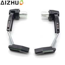CNC Aluminum Motorcycle Handguard Brake Clutch Lever Guard Slider For yamaha MT01 MT03 MT07 MT09 MT10 YZF R1 R3 R15 R25 R125 R6