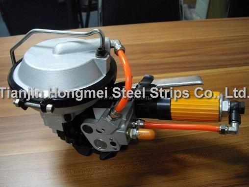 A480 / KZ-19 Combinazione pneumatica Reggiatrice in acciaio, - Utensili elettrici - Fotografia 5