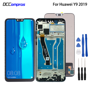 Original For Huawei Y9 2019 LCD Display Touch Screen Digitizer Assembly For Huawei Enjoy 9 Plus Screen LCD Display Repair Parts for myphone hammer energy lcd display touch screen original lcd glass digitizer assembly repair parts