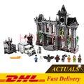 Presell Lepin 07044 1685 Pcs Super Heroes Batman Arkham Asylum Breakout Modelo Kits de Construção de Brinquedos Blocos Tijolos Clone 10937