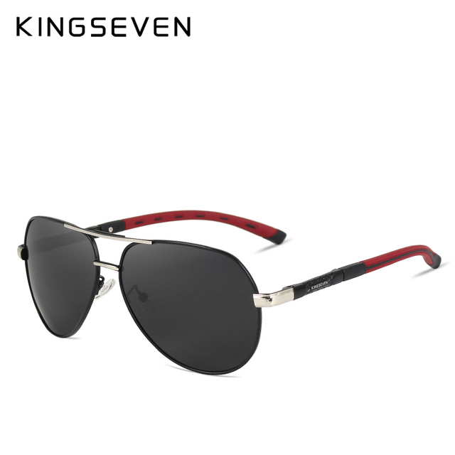 KINGSEVEN K725 Aluminum Magnesium Sunglasses Polarized