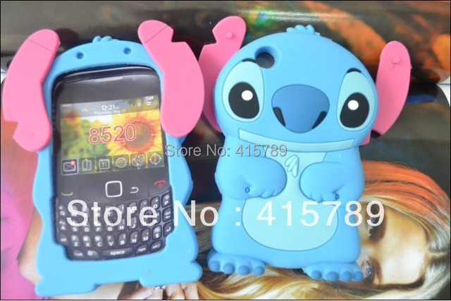 info for 97043 d382f US $3.5 |1pcs cute cartoon Blue 3D Lilo Stitch silicone soft gel case cover  for Blackberry BB Curve 8520 8530 9300 shockproof shell on Aliexpress.com  ...