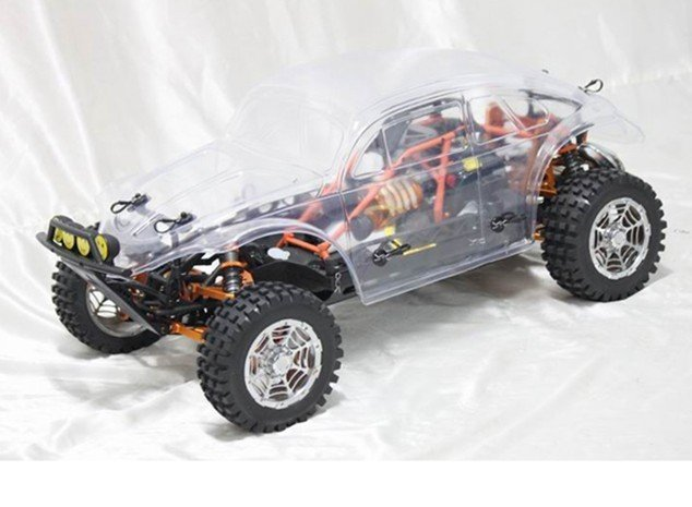 Volkswagon Clear body cover for  Baja 5t (only the body cover) prochnow 101 experiments for the young scientis t pr only
